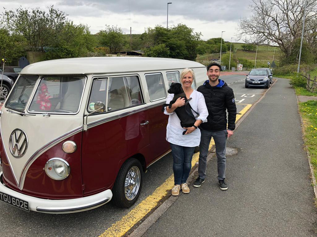Winner Joyce Tam of a 1967 Ruby The Deluxe VW Splitscreen  -  3rd May