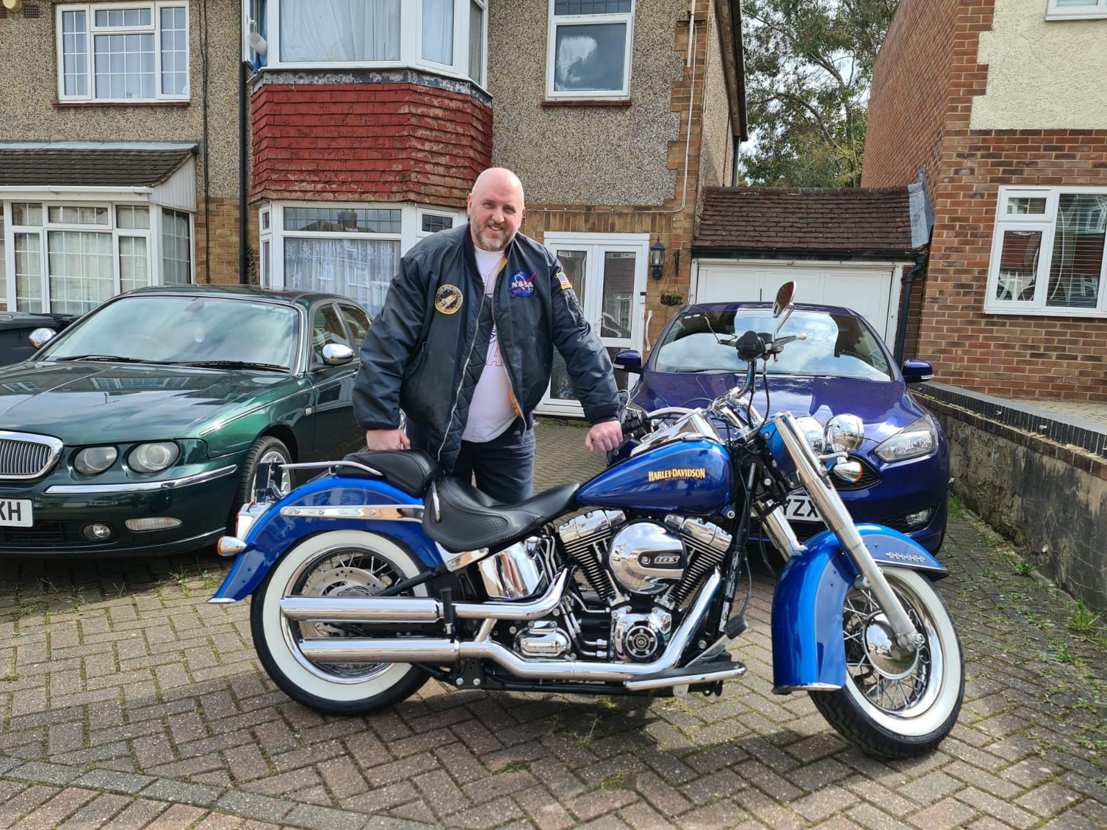 Winner Anthony Macdonald-Heaney of a  2018 Harley Davidson Softail Softail Deluxe - 22nd March