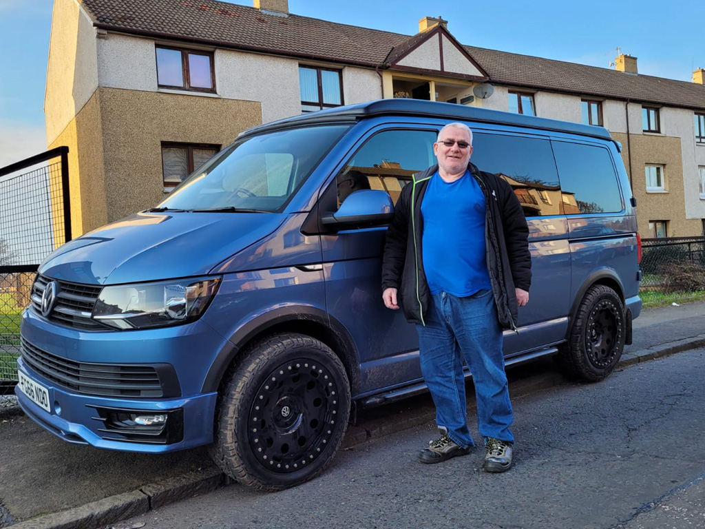 Winner Michael Hirrell of a 2016 VW T6 Highline - 4x4 Expedition - 200bhp - 1st March