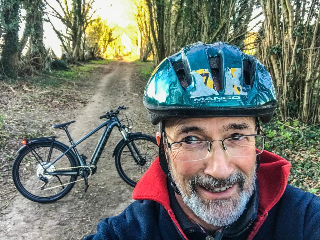 Winner Angus Malcom of a Trek Powerfly 4 500 2021 Electric Mountain Bike - 8th March