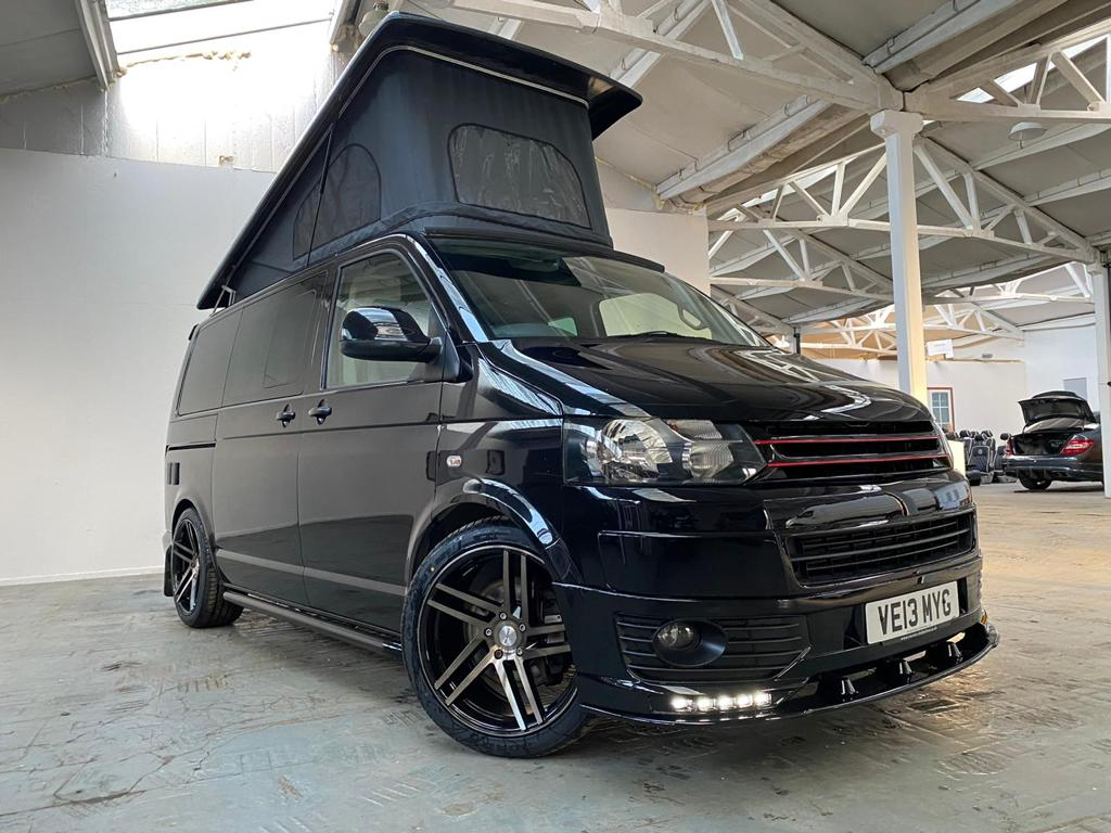 VW T5.1 in Stunning Black - DSG - Off Grid - 12th April