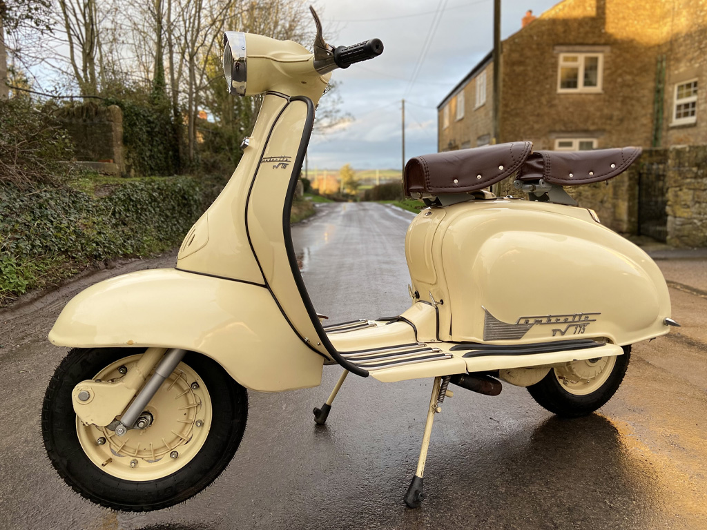 Innocenti Lambretta TV175 - 1960 - 15th Feb