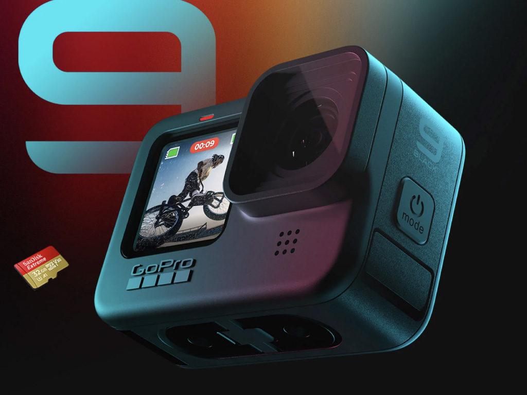GoPro HERO 9 Black - Waterproof Action Camera - 22 Feb
