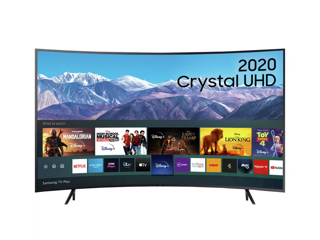 Samsung 55 Inch Curved TV