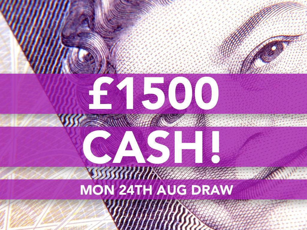 £1500 Cash