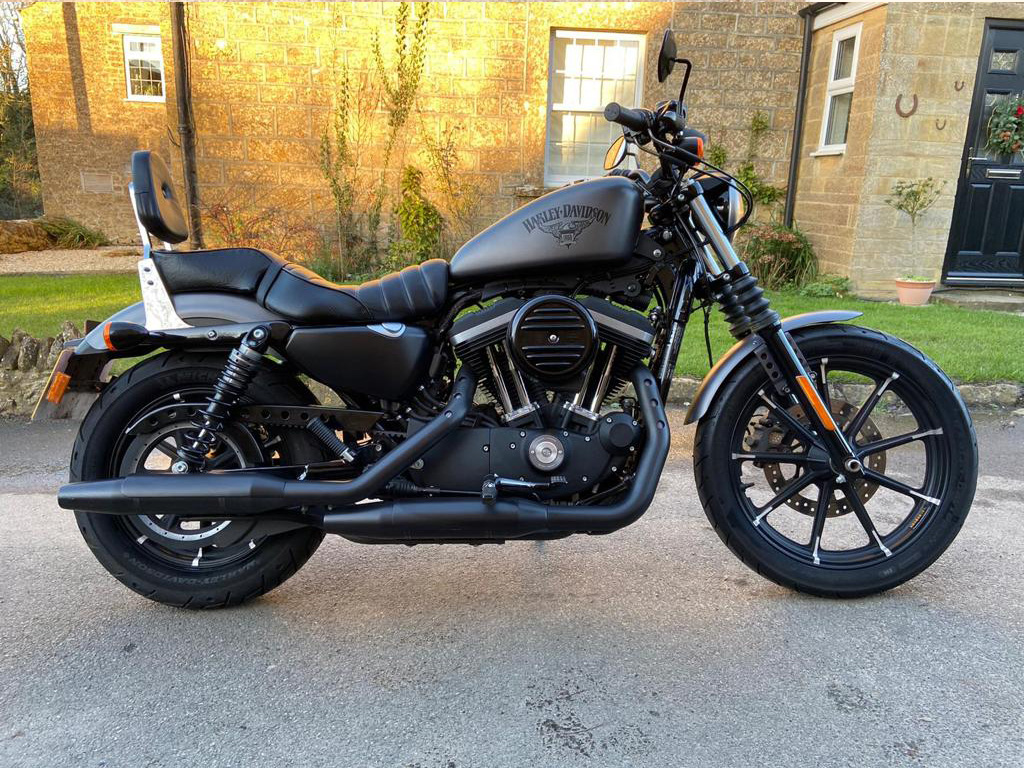 2016 Harley Davidson XL883N Iron