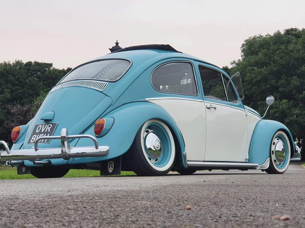 Raggi the Rag Top VW Beetle