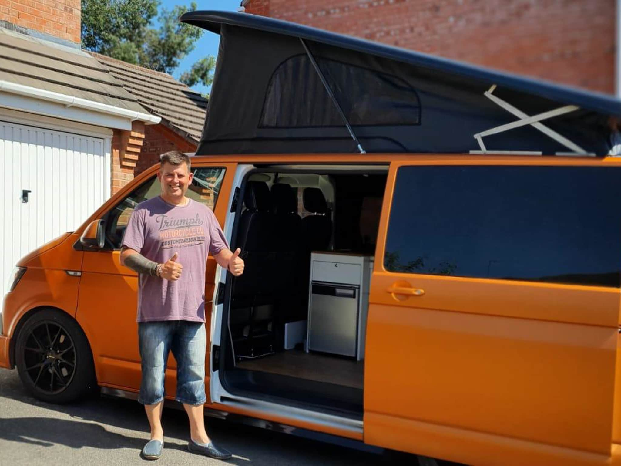 Winner Robert Pointer of a 2019 VW T6 Highline in Satin Copper - Off Grid Special – 7th June