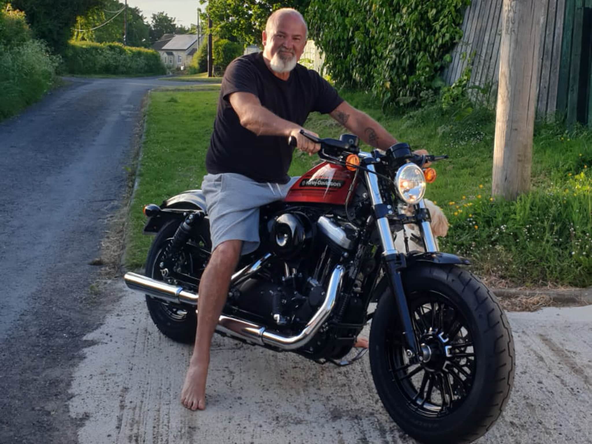 Winner Nico Human of a 2019 Harley Davidson Sportster 1200 Forty Eight! - 7th June