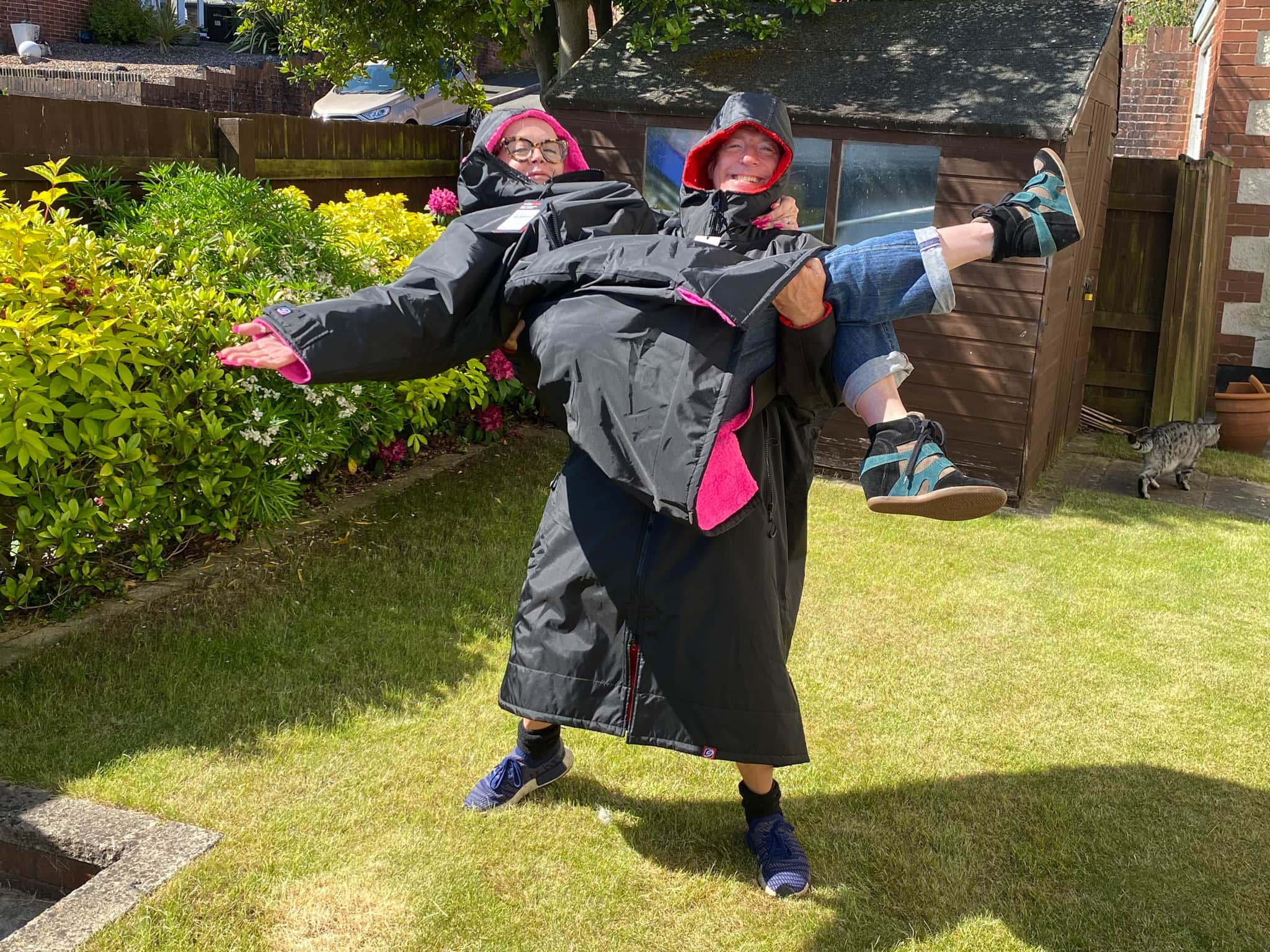 Winner Emma Beckley of a Double dryrobe Advance Long Sleeve and Bags - Blue - 2x Dryrobe longsleeves with 2x Bags - 14th June