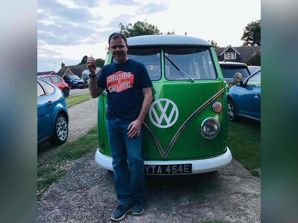 Winner Geraint Nicholas of a Hattie the VW Splitscreen - Absolute Stunner - 13th Sep