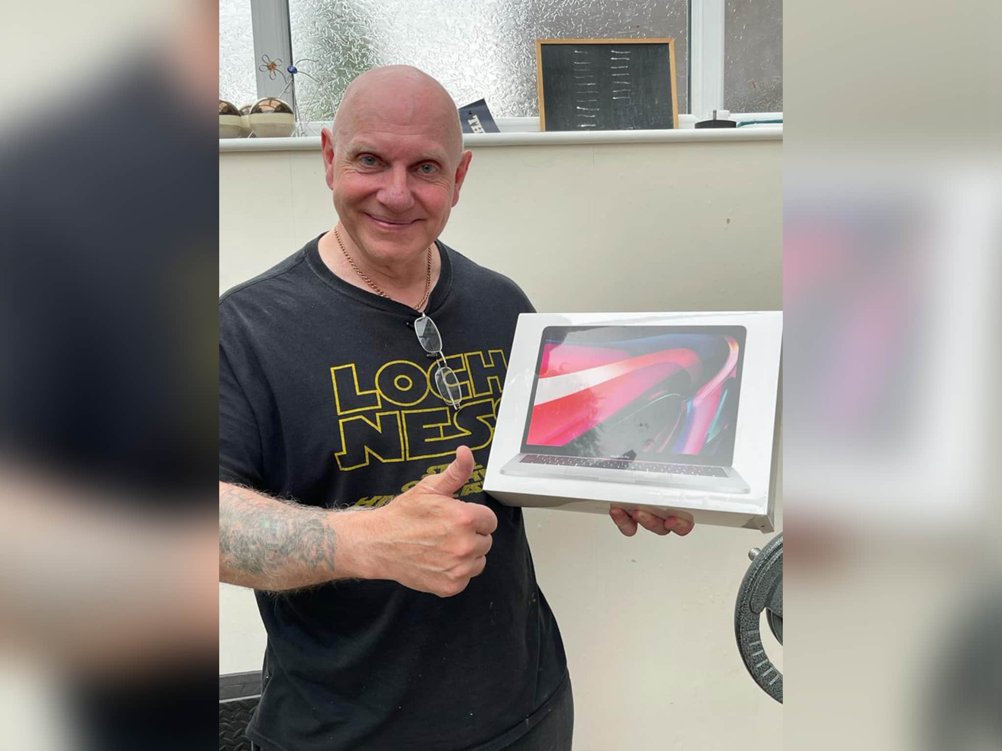 Winner Keith Henson of a New MacBook Pro with Touch Bar (2021) with M1 Chip - 9th Aug