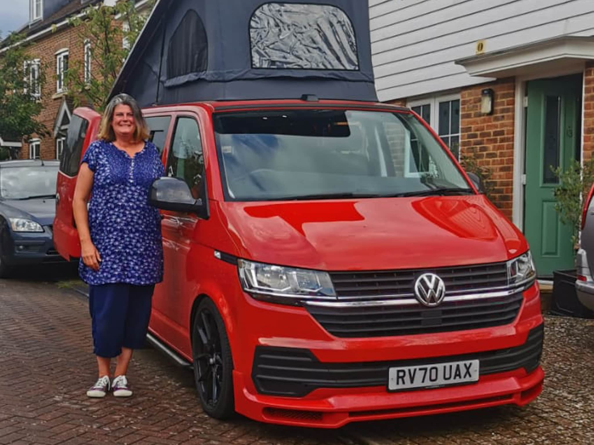 Winner Terisa Tuffin of a 2020 T6.1 2.0 TDI - Off Grid with Pop Top - Chilli Red - 26th July