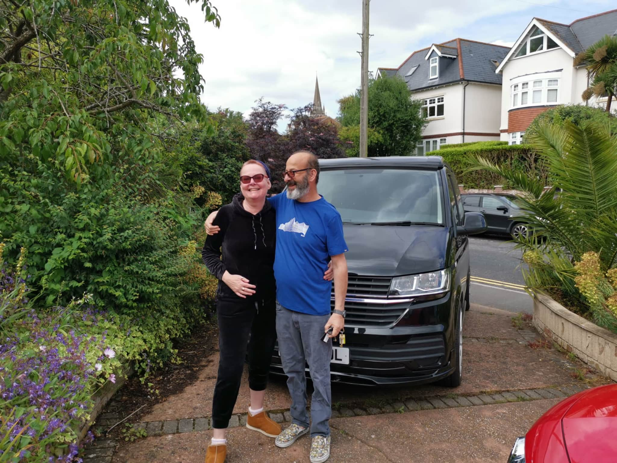 Winner michael aronsohn of a VW T6.1 Off Grid Camper with pop top roof - 21st June