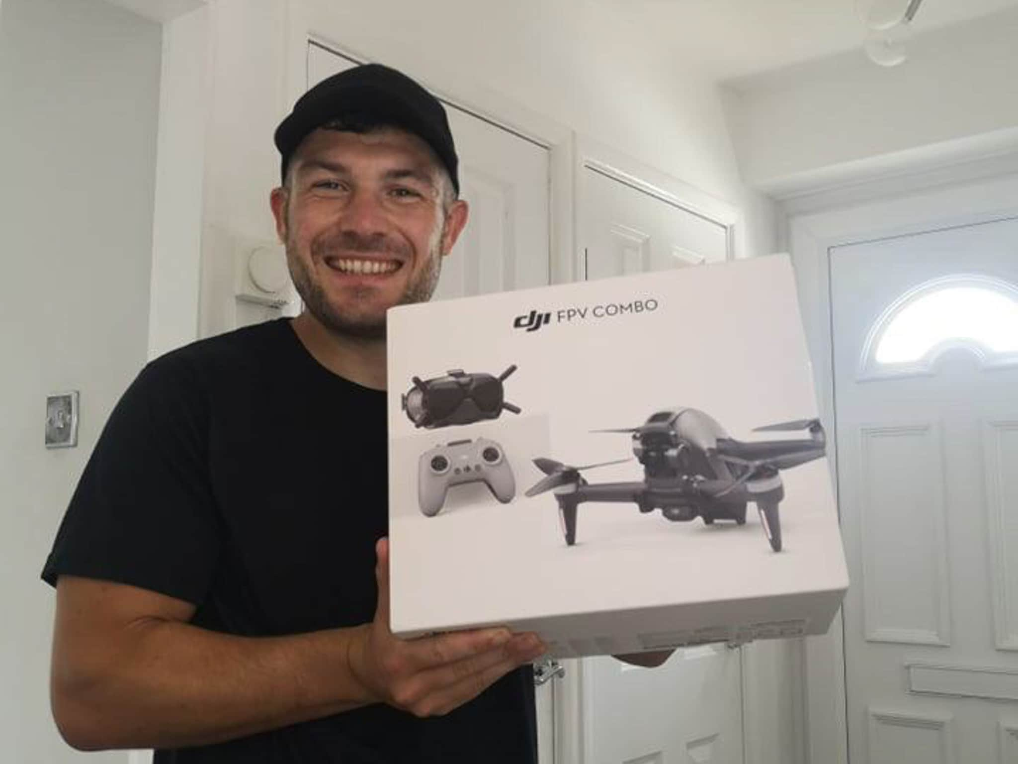 Winner Stewart Cutts of a DJI Drone FPV Combo - 19th July