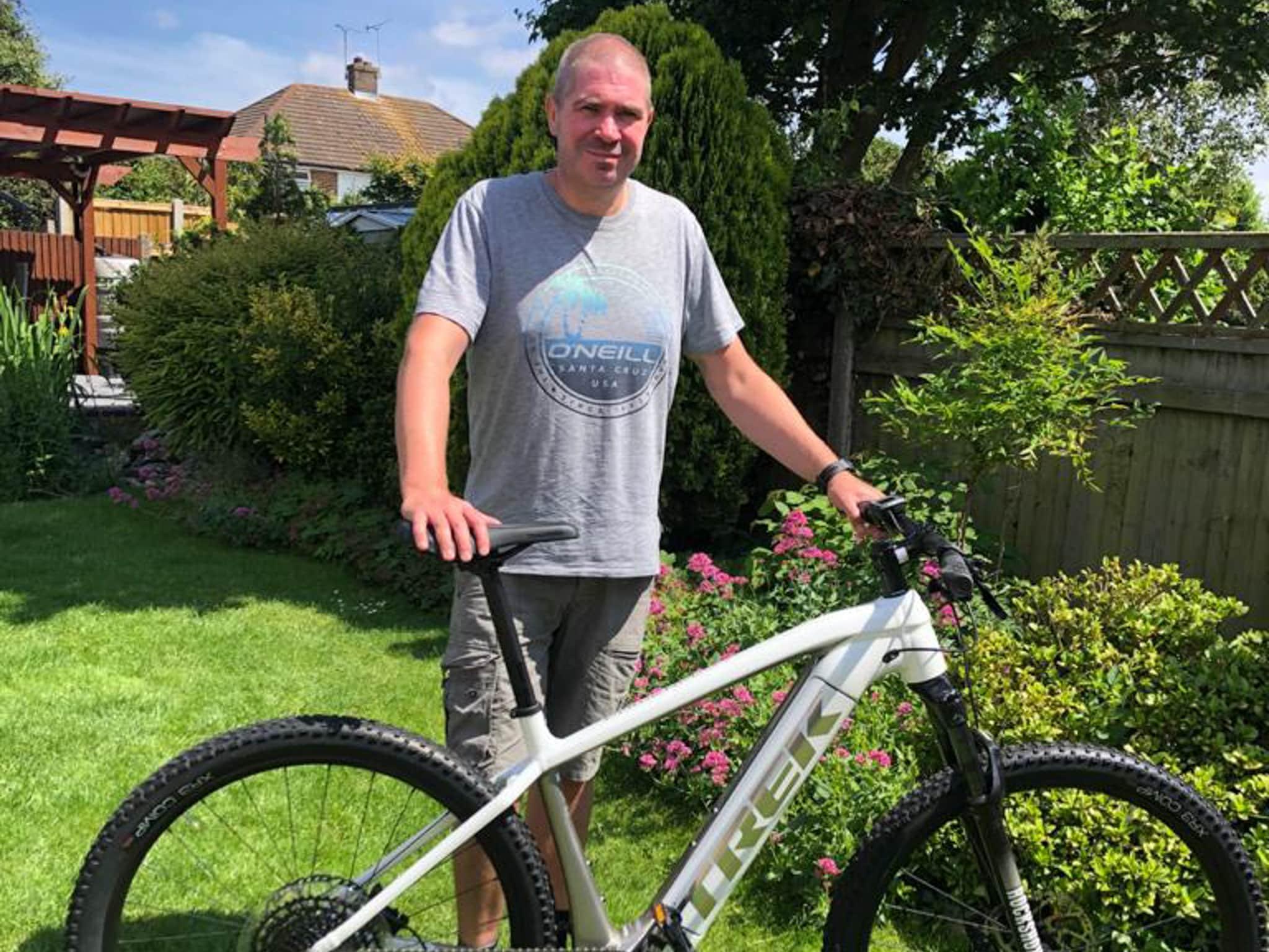 Winner Mark Towens of a Trek Powerfly 4 500 2021 Electric Mountain Bike - 14th June