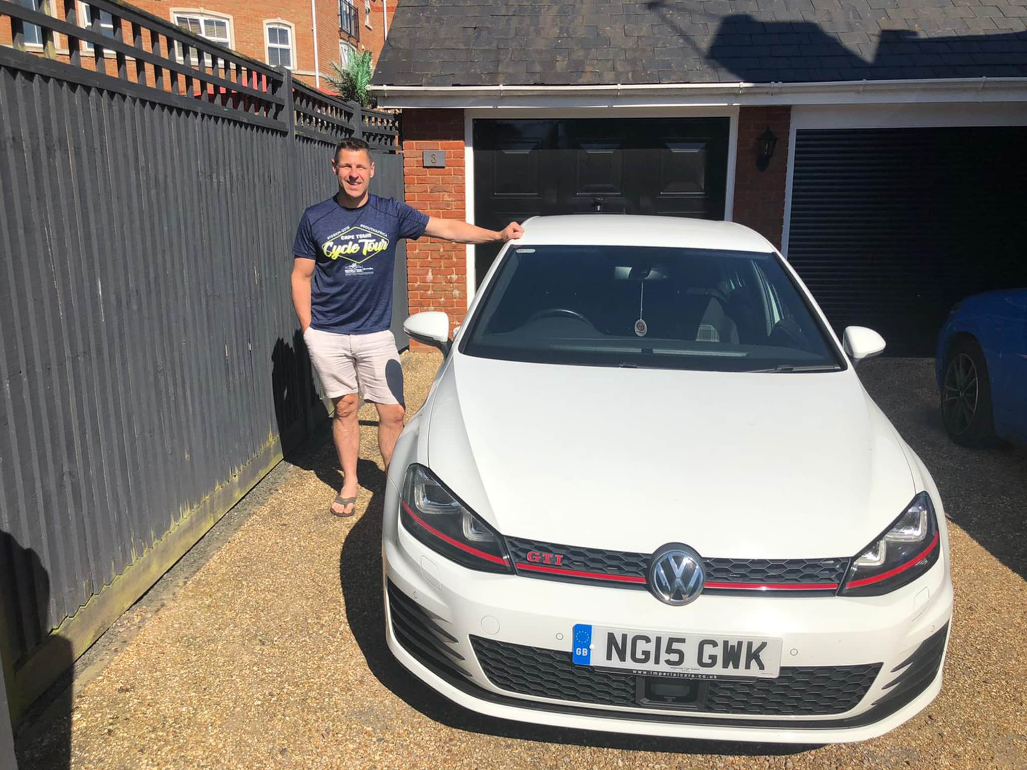 Winner Laurie West of a 2015 VW Golf 2.0 GTI - Bank Holiday Special - 31st May