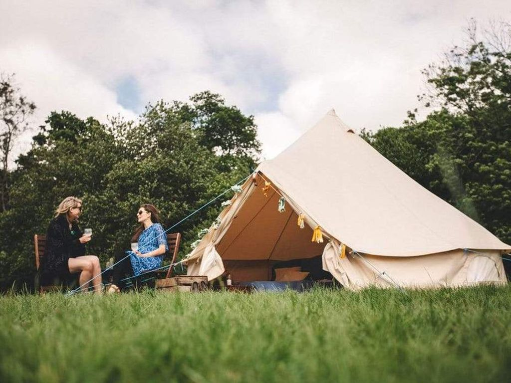5M 360 gsm Fireproof Pro Bell Tent with Stove and Flue Kit - 20th Sep