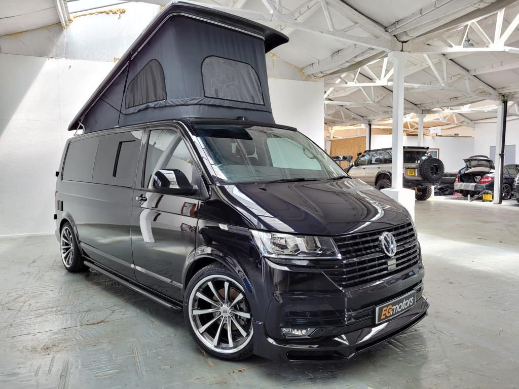 2020 VW T6.1 Metallic Black - 2.0 TDI - Off Grid with Poptop Roof  - 19th July