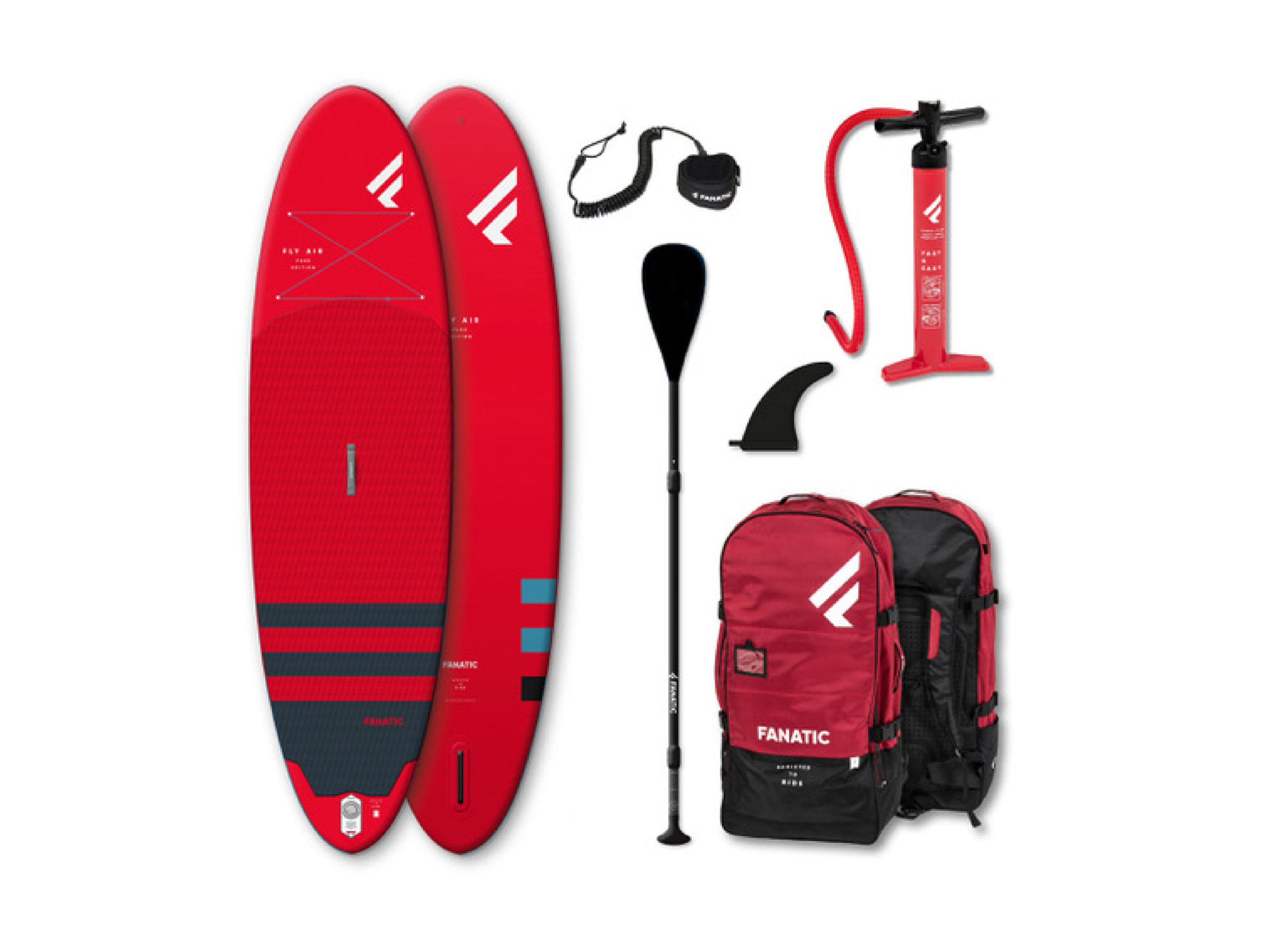 Fanatic Fly Air Red 2021 10'8 Inflatable SUP - 26th July