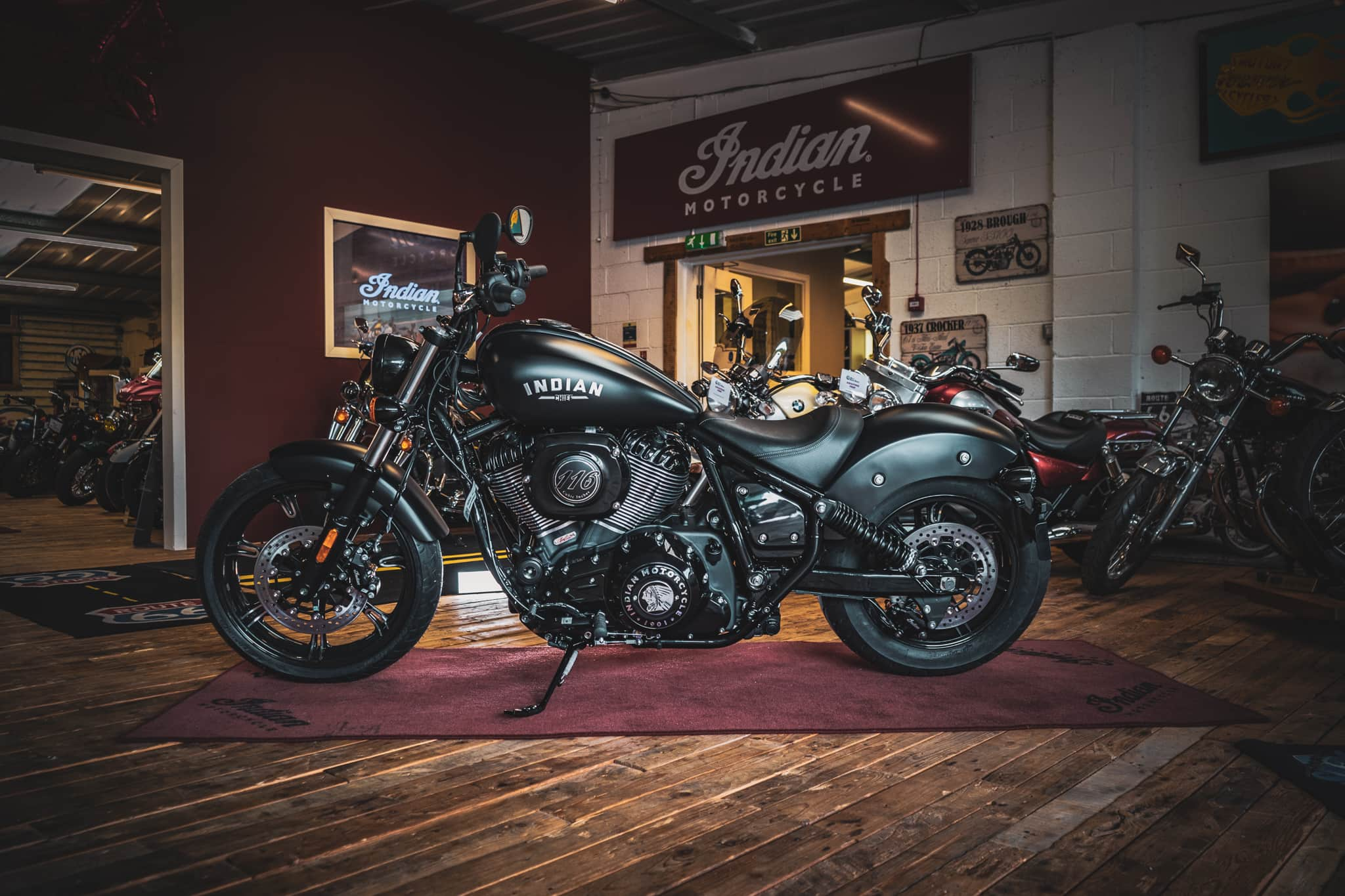 Brand New! Indian Chief Bobber Dark Horse in Black - 19th July