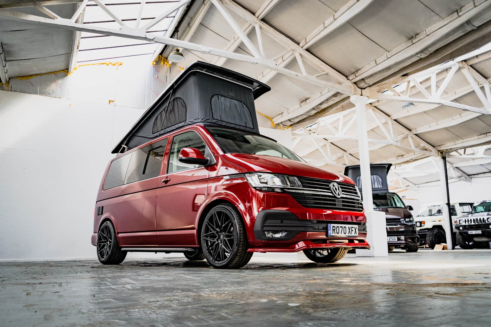 VW T6.1 Highline - Candy Red Camper with Pop Top Roof - 20th September