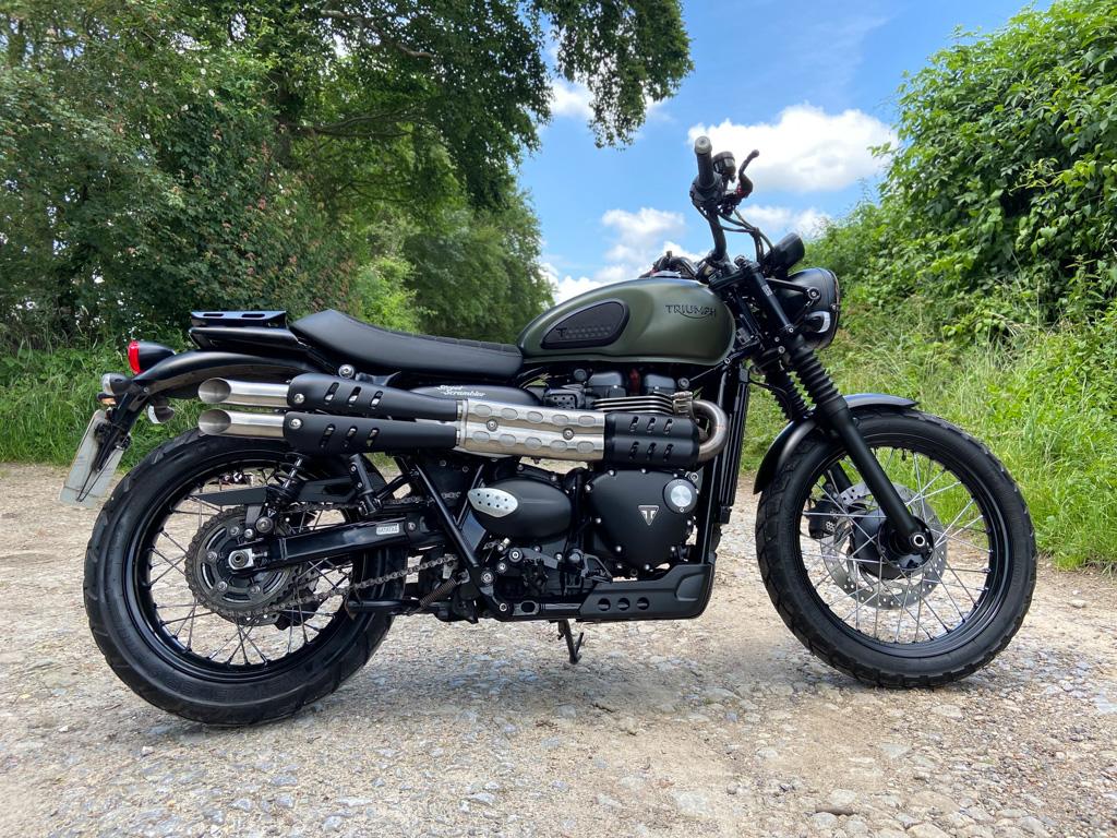 2018 Triumph Street Scrambler 900cc… Custom ! 19th July