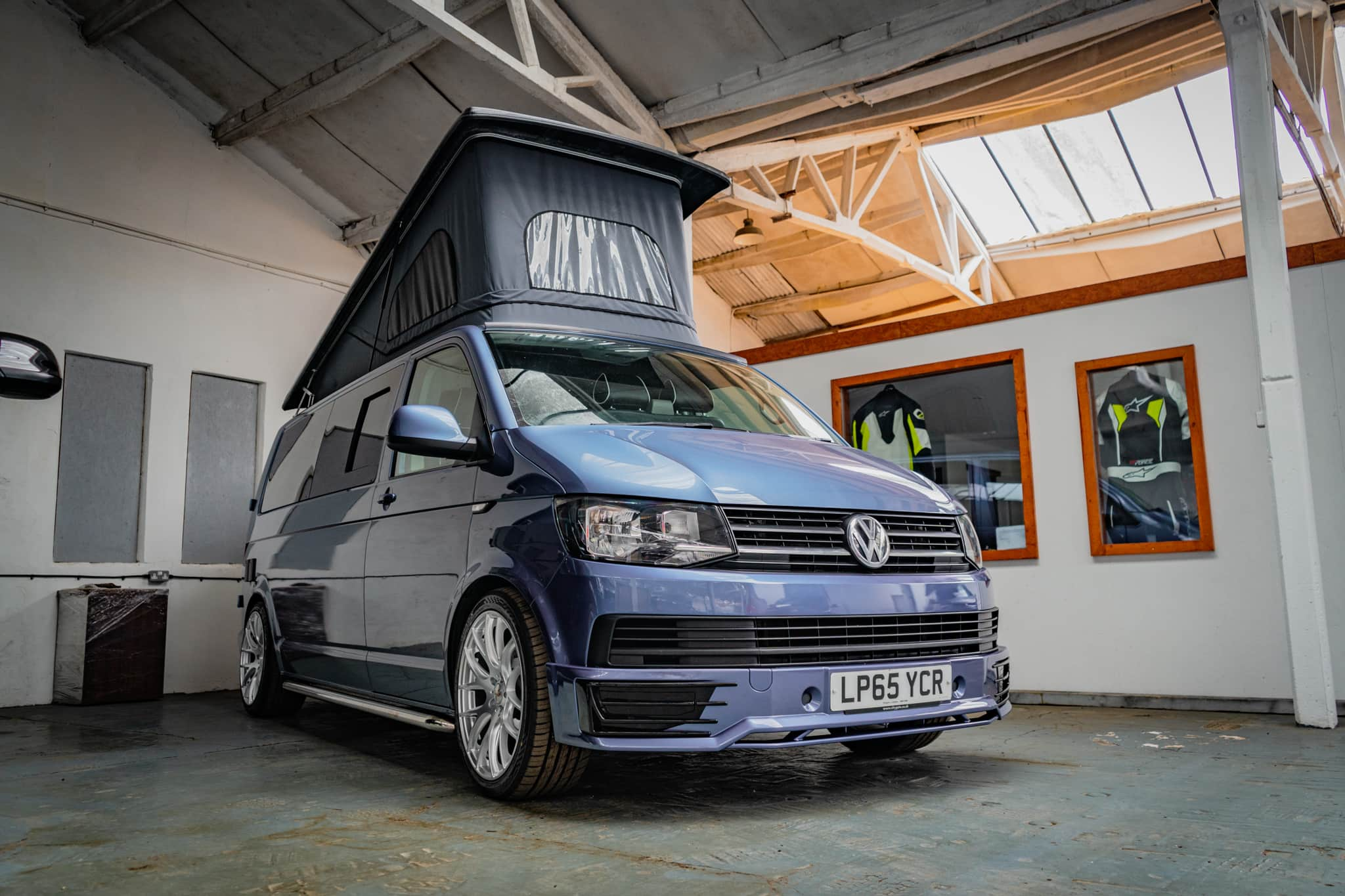 VW T6 2.0 TDI - Off Grid with Pop Top - Acapulco blue - 26th July