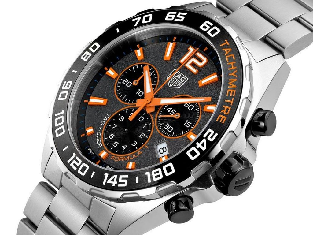 TAG Heuer Formula 1 Chronograph Men's Watch - 19th July