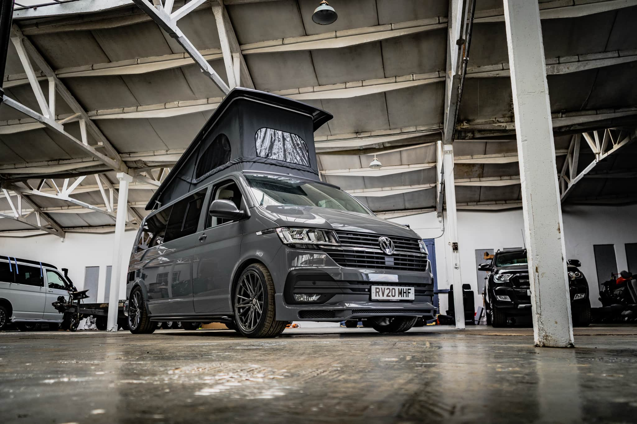 2020 VW T6.1 Highline - Pure Grey 2.0 TDI - Pop Top Roof - 6th Sep