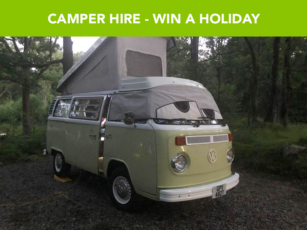 Staycation VW Camper Hire - 22nd March