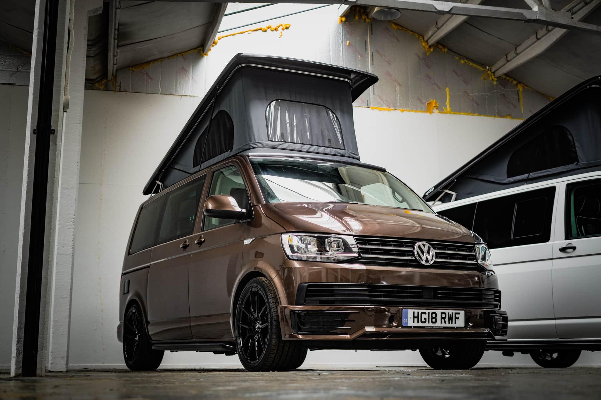 VW T6 Toffee Brown - DSG - Poptop Roof - 23rd Aug