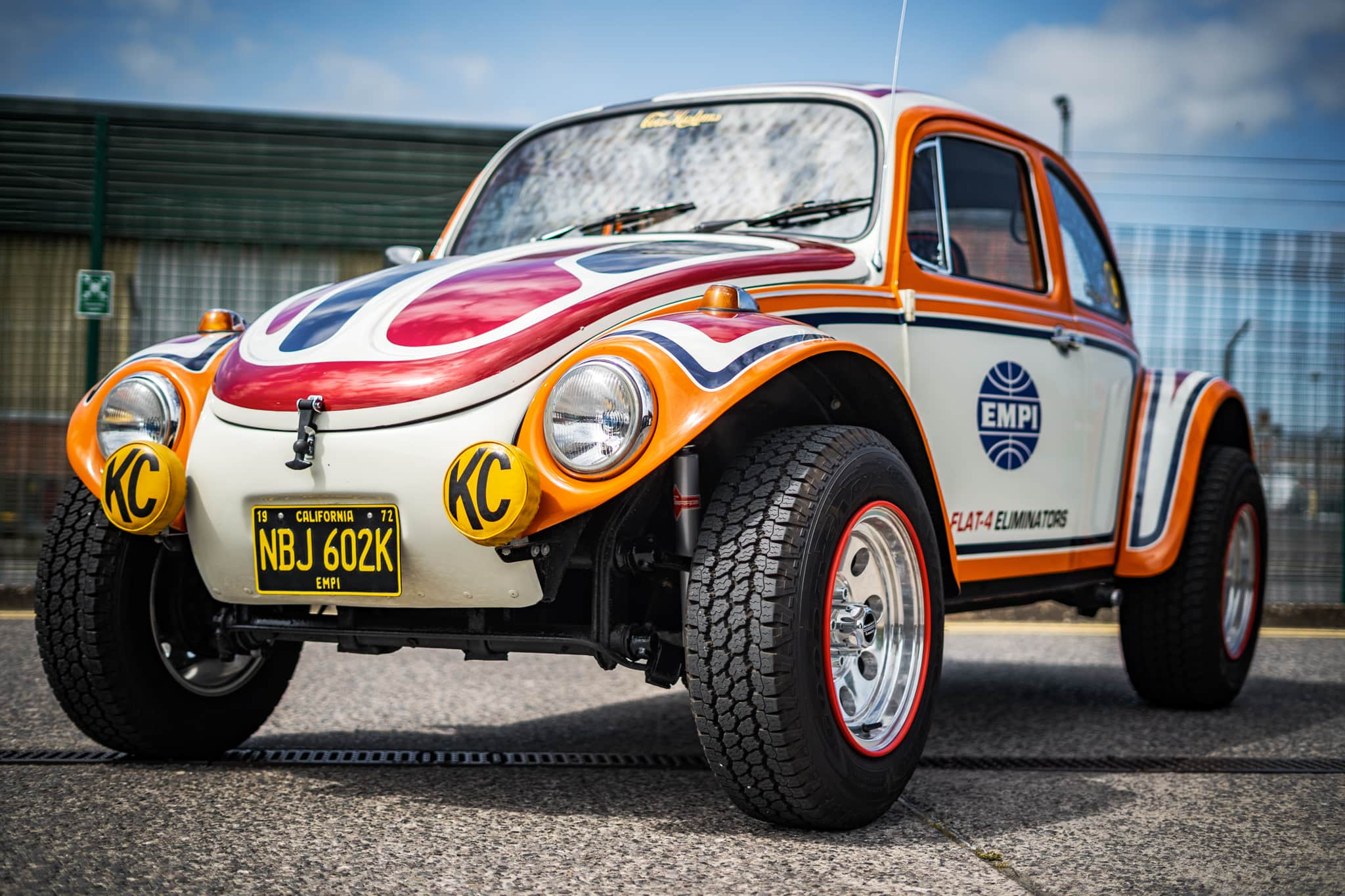 1972 VW Beetle - EMPI Inch Pincher Tribute Baja - 5th July