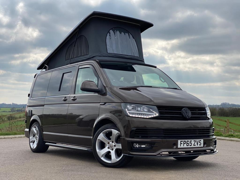 VW T6 (65 Plate) Highline in Toffee - DSG - Off Grid - 12th April