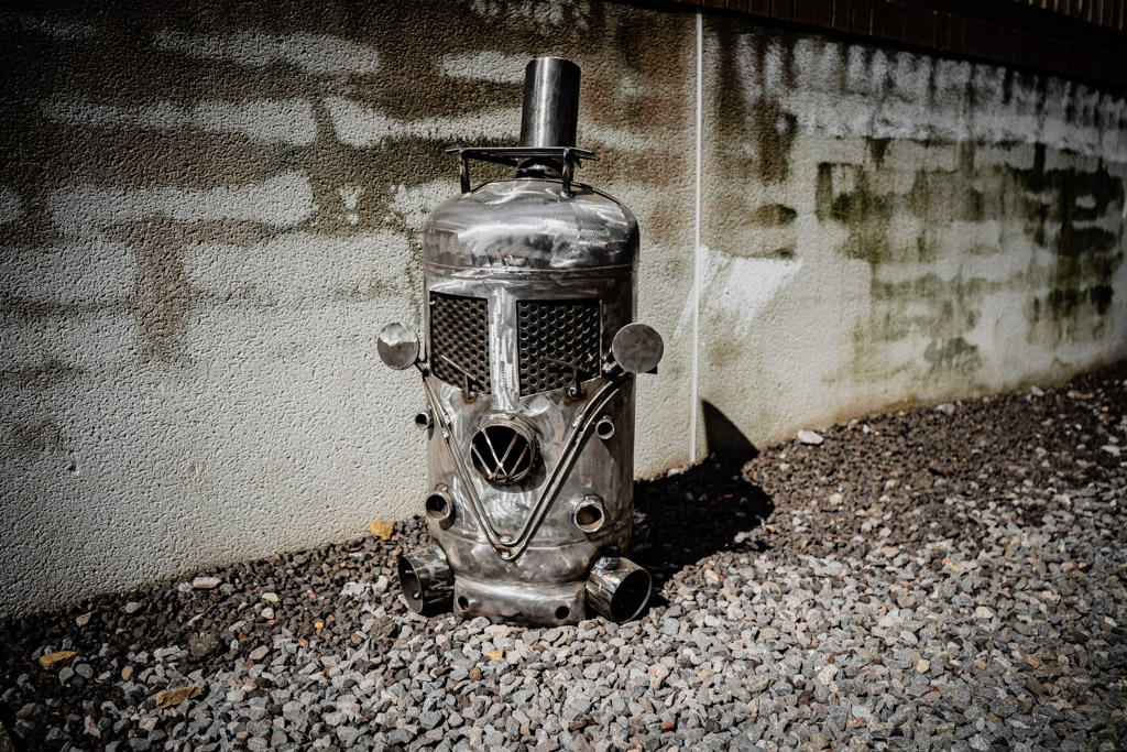VW Log burner - 16th Aug