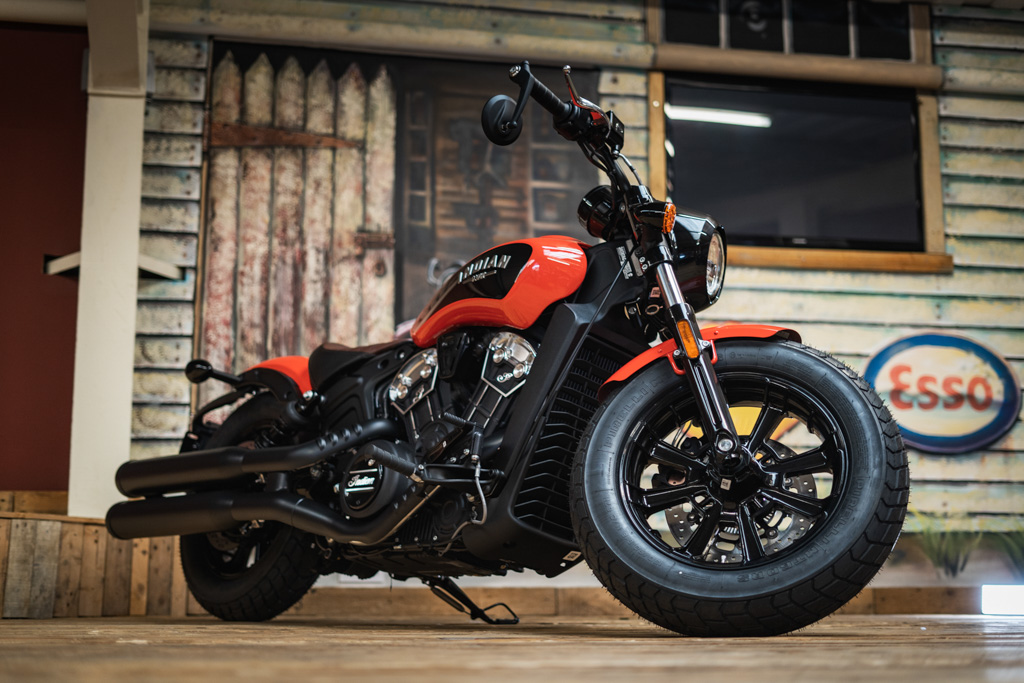 Brand New Indian Scout Bobber 1200 ICON – 12th July