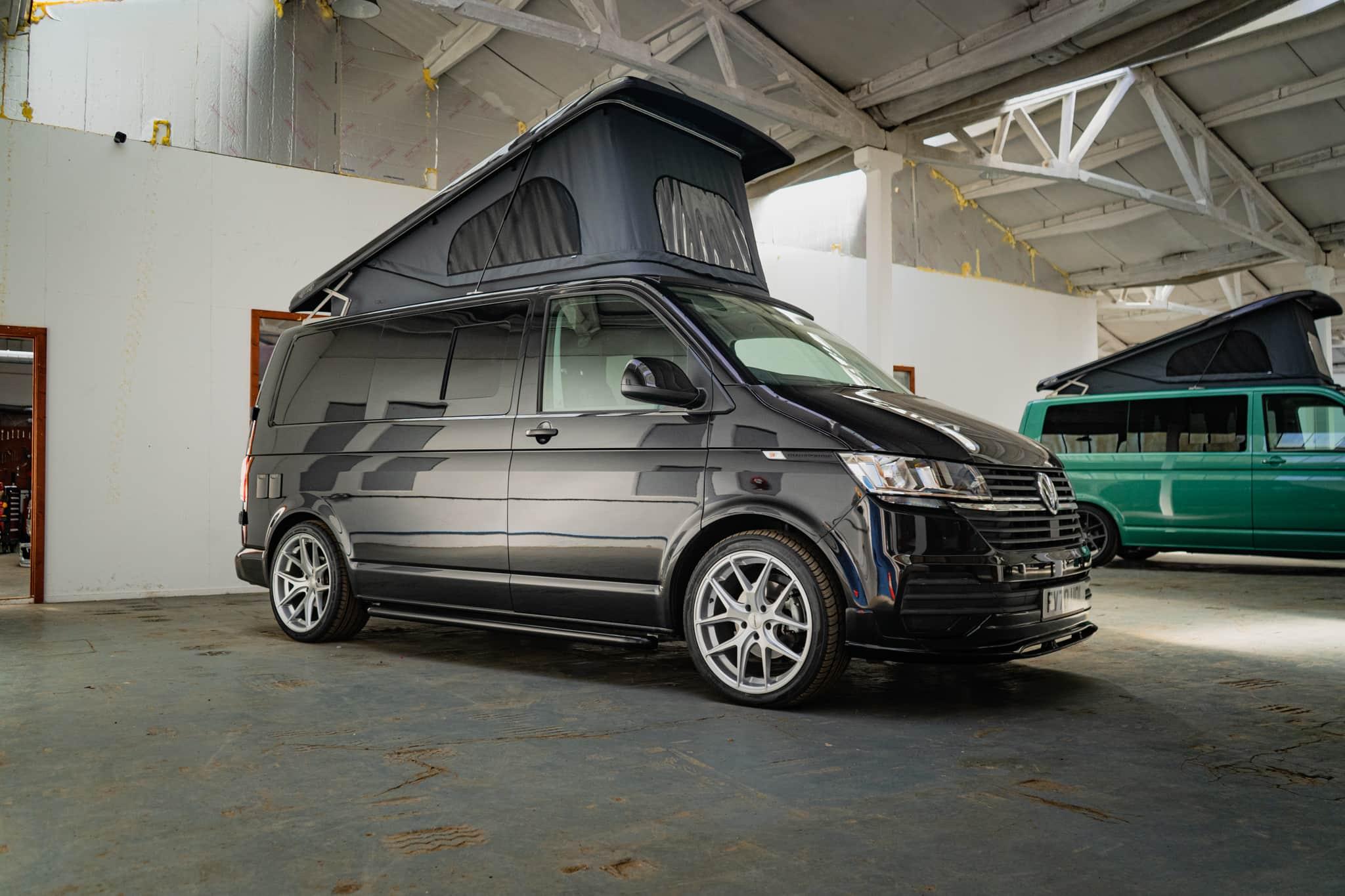 VW T6.1 Off Grid Camper with pop top roof - 21st June