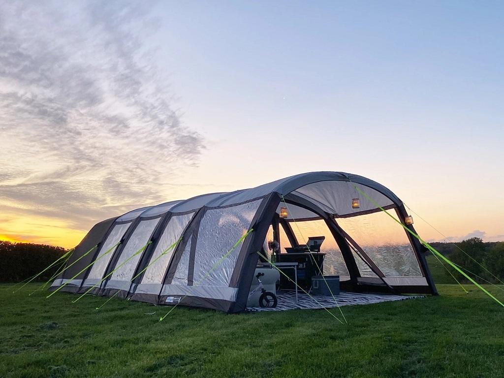 2021 Airtek 8 Pro Tent & Porch Gold Bundle - 15th March