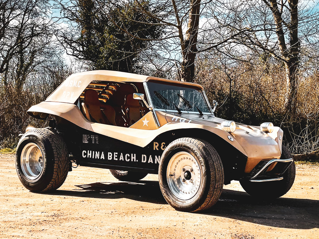 CHINA BEACH SIDEWINDER VW Beach Buggy with outdoor rain cover- 15th March