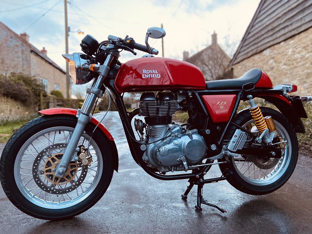 Royal Enfield Continental GT535 - 1st March