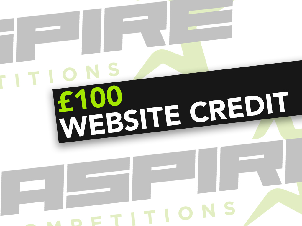 £100 Website Credit - 3rd May