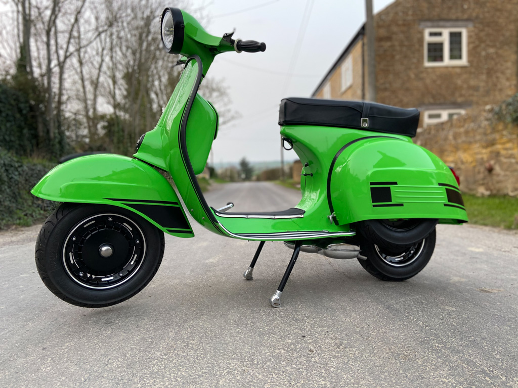 1970 Vespa Rally 180 - 12th April