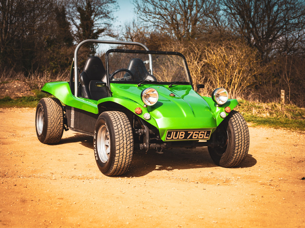 The Antisocial Green Machine 1972 VW Beach Buggy- 5th April