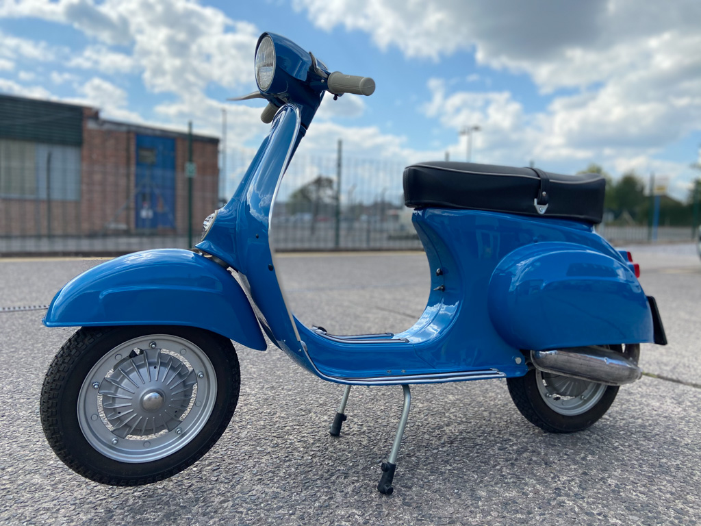 Vespa 90 SS  (Series two German imported) - 10th May