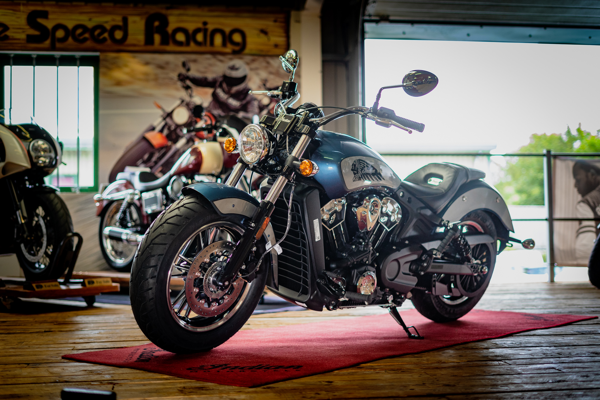 Brand New Indian Scout 1200 ICON –  Blue Slate Metallic - 26th July