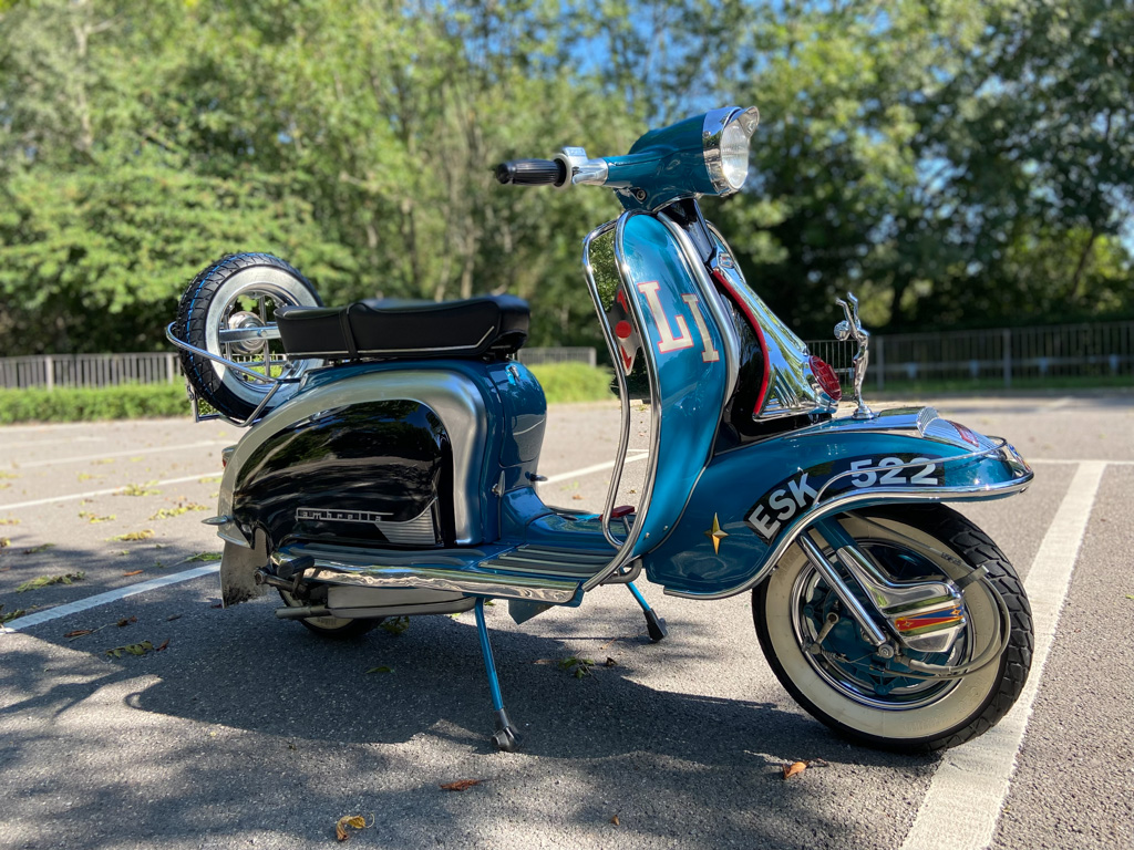 1960 Lambretta series 2 LI150 tuned engine with 175 top end (125cc registered) - 20th Sep
