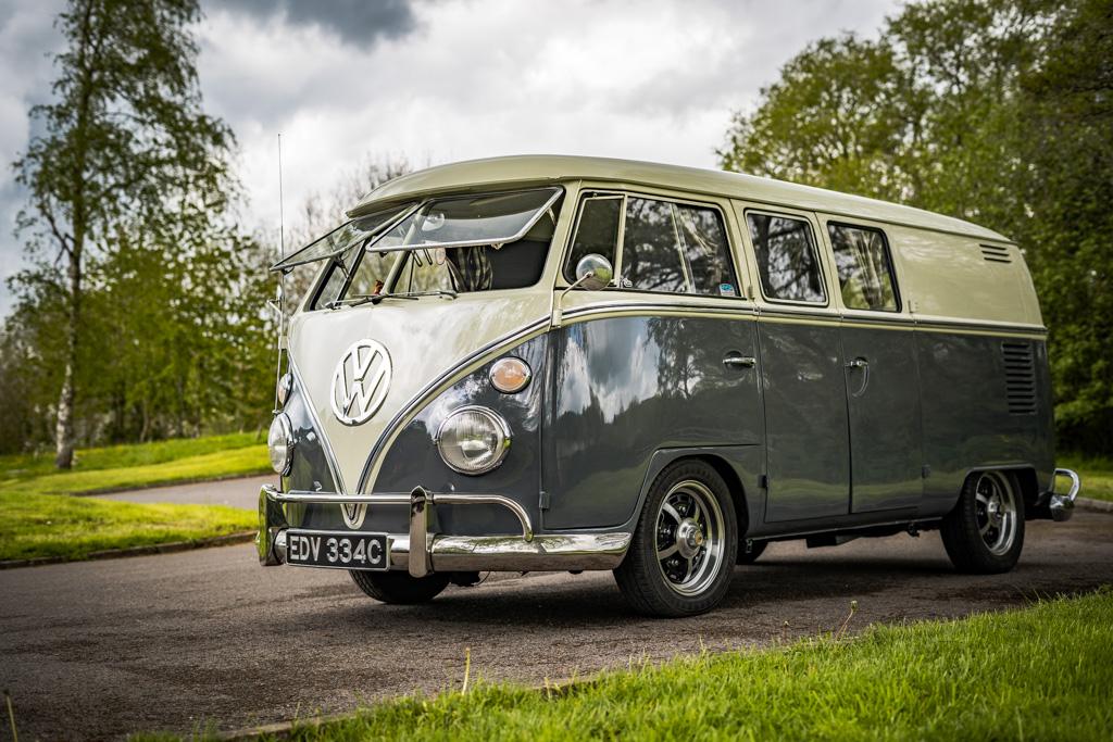 Ernie the fastest milkvan in the west - VW Splitscreen- 31st May