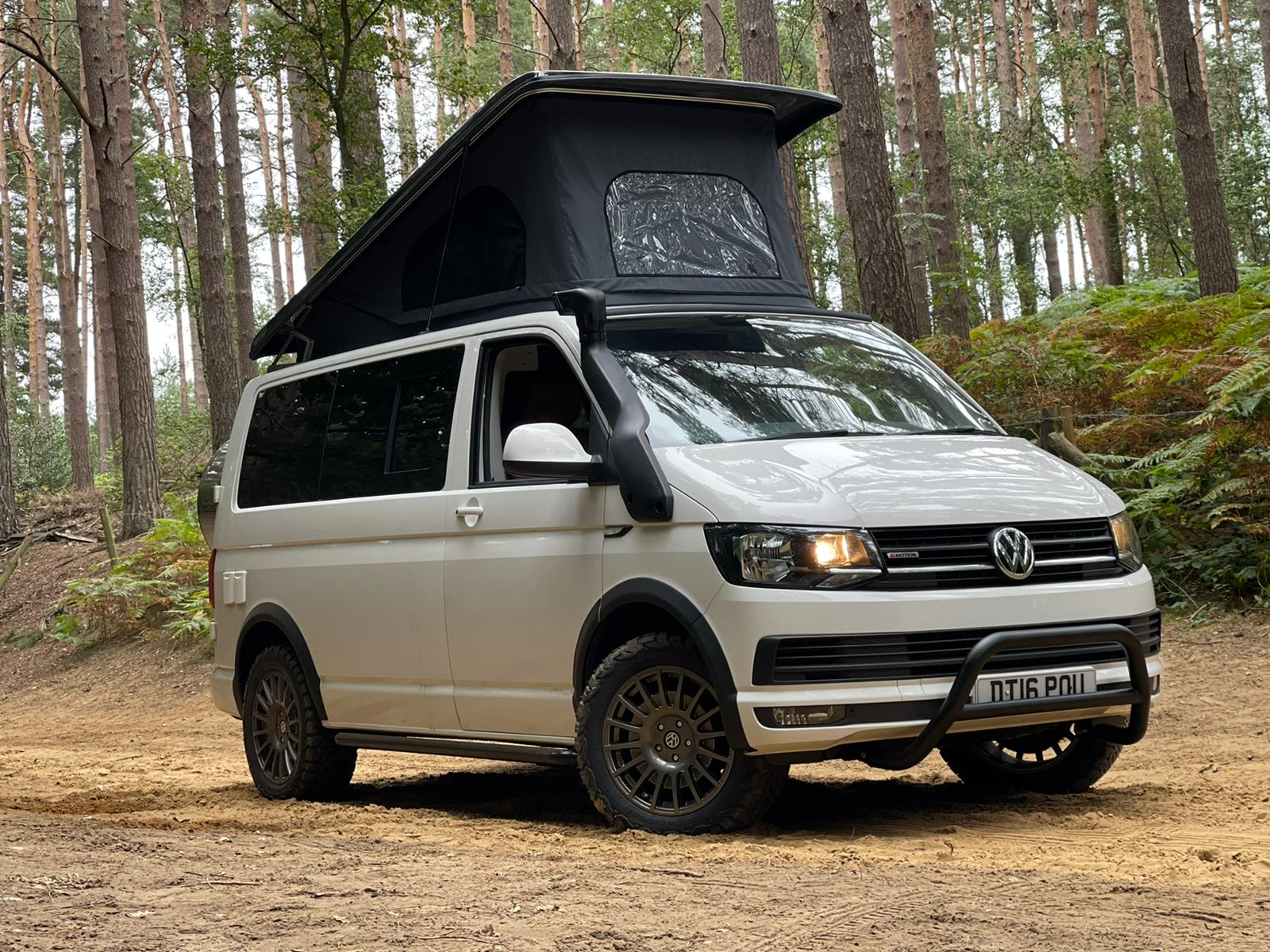 VW T6 Highline - 4x4 Swamper with Pop Top Roof - 4motion Go Anywhere! - 13th Sep