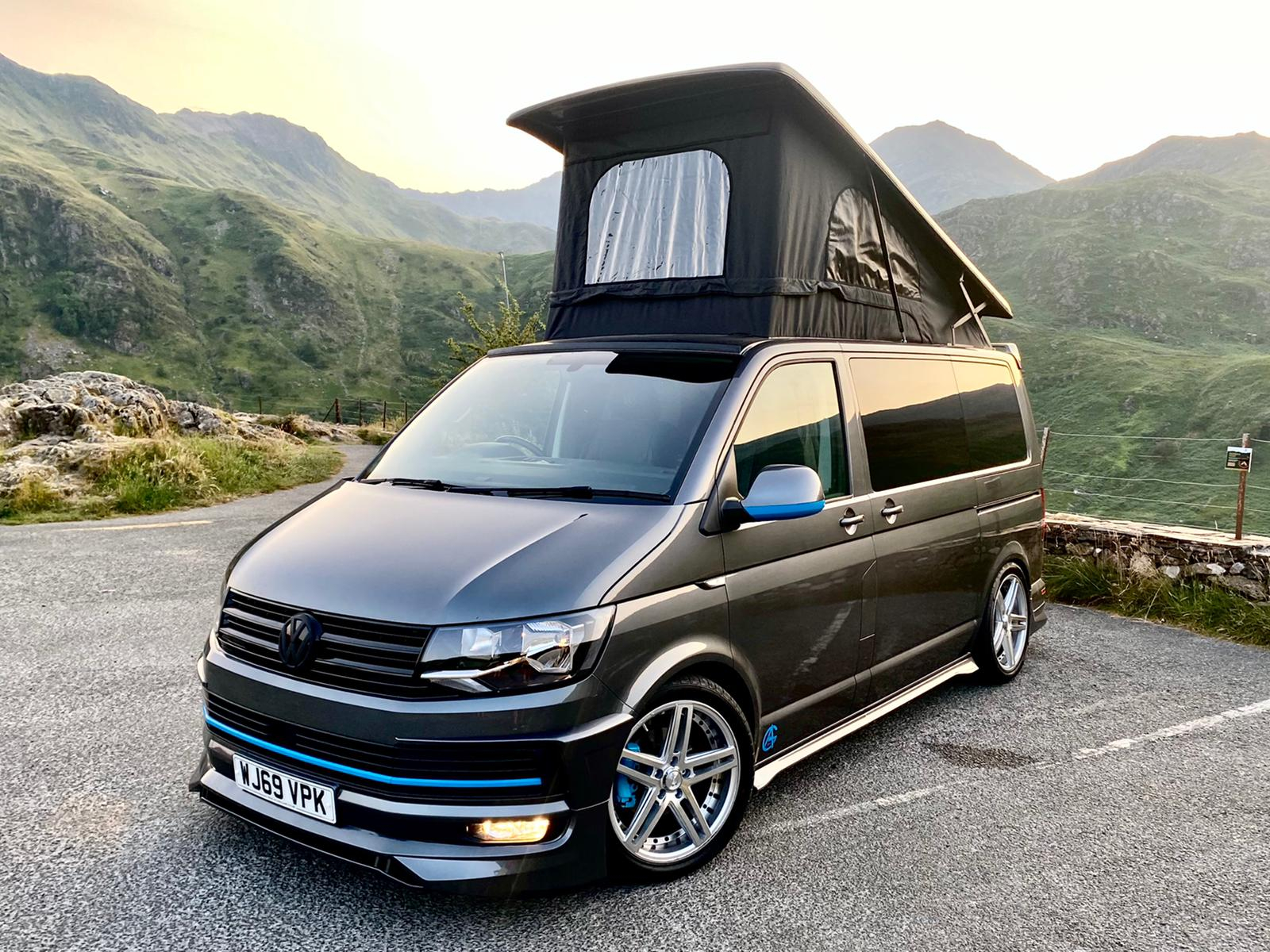 2019 VW T6 Highline Sport Off Grid with ABT bodykit - 2nd Aug