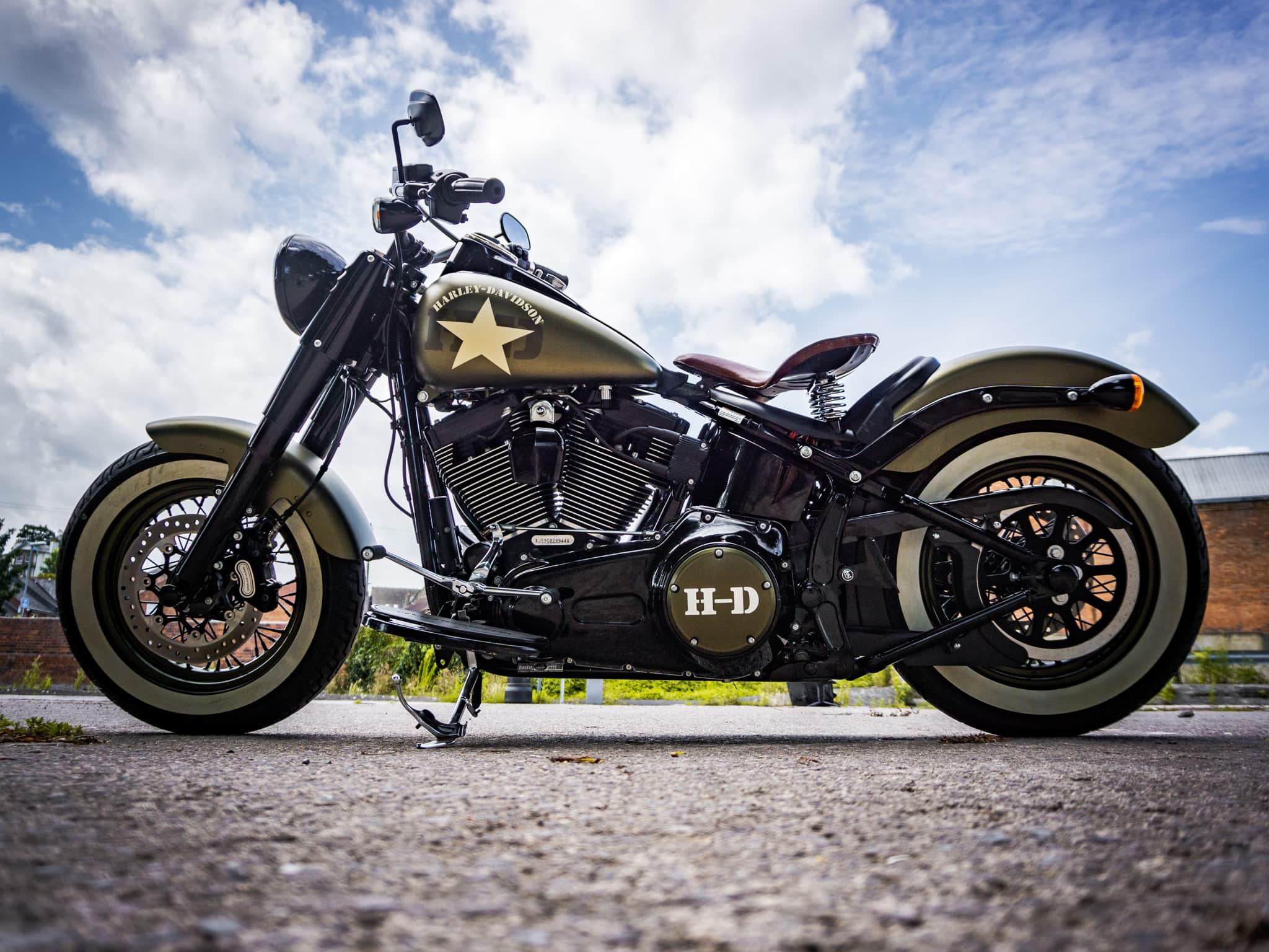 2016 - Harley Davidson Softail Slim  (1802) - 9th Aug